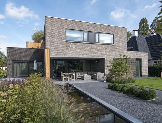 Moderne villa te Rotterdam