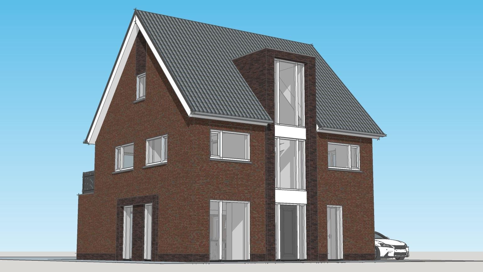 Moderne huizen bouwen allure bouw da s thuiskomen for Modern herenhuis
