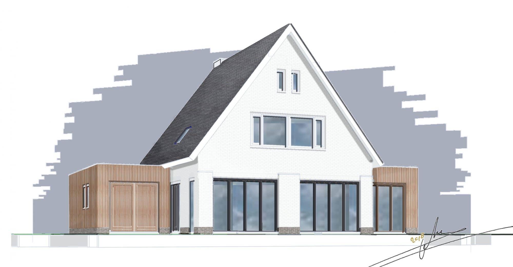 Cataloguswoning op maat bouwen allure bouw for Catalogus woning bouwen