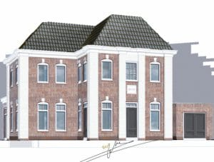 Villa schetsen