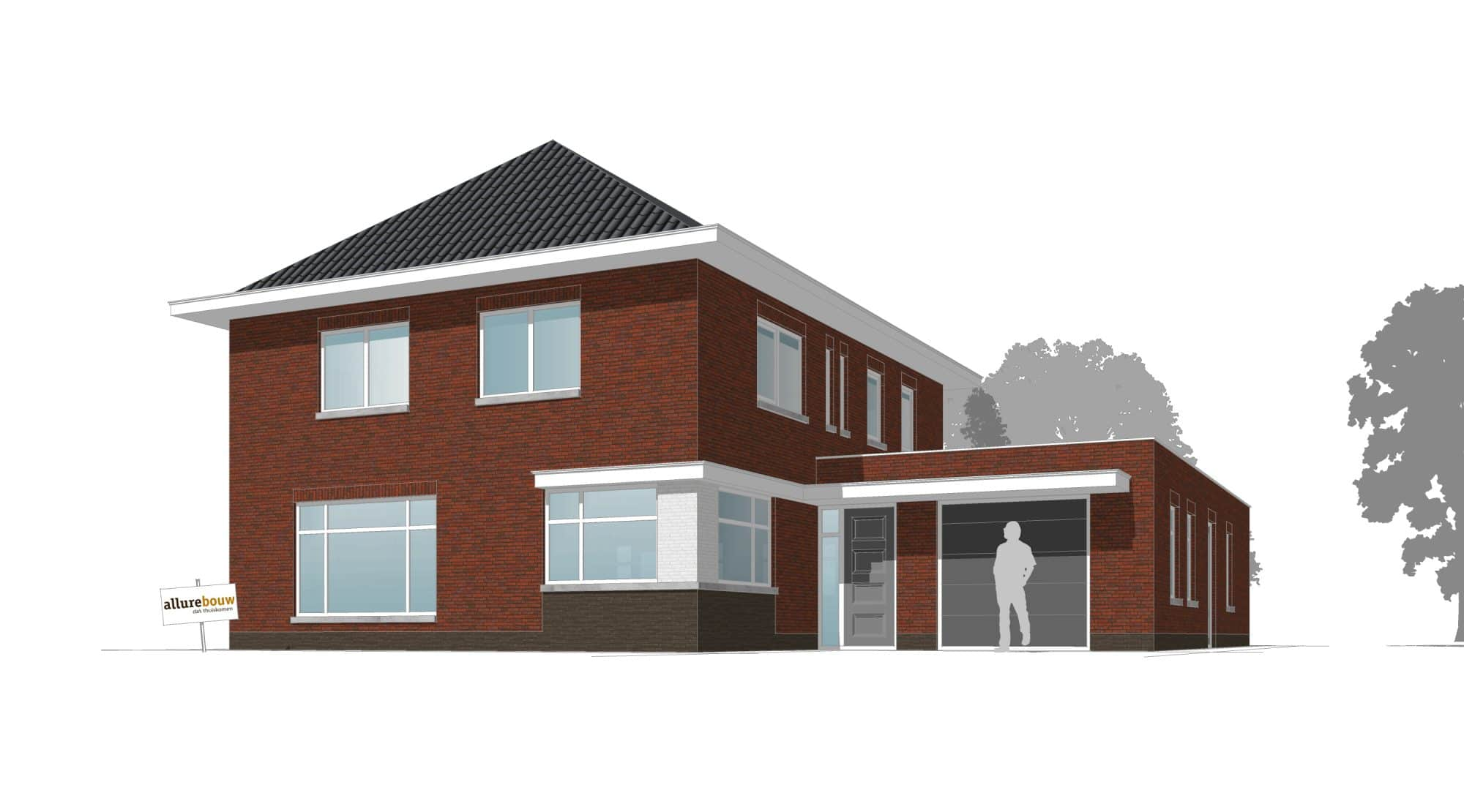 Semi Bungalow Bouwen : Jaren 30 woning bouwen kosten allure bouw